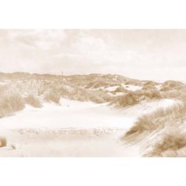 Fotobehang Duinlandschap Vintage Sepia