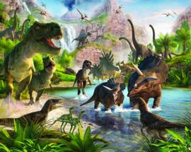 Walltastic posterbehang 41745 Dinosaur Land