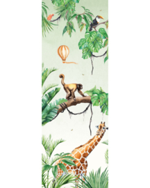 Creative Lab Amsterdam Jungle Monkey 100cm x 280cm hoog