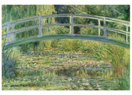 Fotobehang Waterlelie vijver (Claude Oskar Monet)
