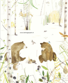Eijffinger Wallpower Junior 364162 Chitchatting Bears