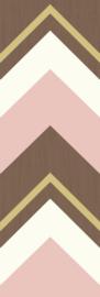 Eijffinger Stripes+ 377202 Wallpower Crisscross Pink