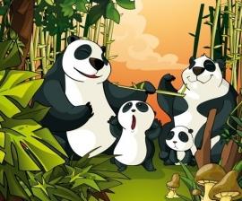 Dutch Digiwalls Fotobehang - Olly art. 13016 Panda Surprise