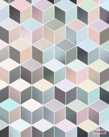 Komar Cubes Pastel P027-VD2