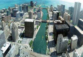 Fotobehang Chicago