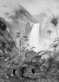 Komar Into Adventure IAX4-0020 Jurassic Waterfall  200cm x 280cm hoog