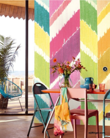 Eijffinger Stripes+ 377210 Wallpower Grand Zigzag Sugar