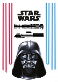 Wandsticker Starwars Darth Vader And Lightsabers 14030