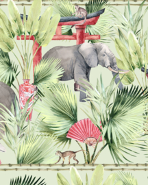 Creative Lab Amsterdam Ritual Elephant  100cm x 280cm hoog