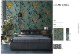 Fotobehang Smart Art Leilani Green 46810