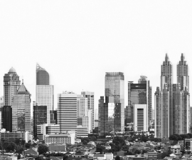 Fotobehang City Love CL67B Jakarta