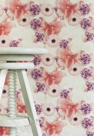 Fotobehang Wallpaper Queen ML207 bloemen