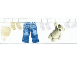 As Creation Little Stars 35846-1 behangrand Beertjes en Kleertjes
