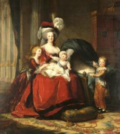 Fotobehang Marie Antoinette (Vigeé Le Brun)