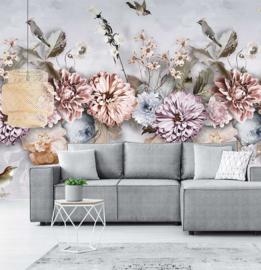 Floral Utopia INK7550 fotobehang afm. 200cm breed x 280cm hoog