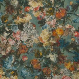 Rasch Passepartout 605655 geschilderde bloemen