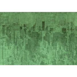 Fotobehang New York the City Green