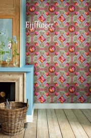 Eijffinger Pip Studio Wallpower 313113 Singing Roses khaki