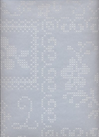 Eijffinger Pip Studio behang  386004 Cross Stitch Grijs