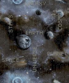 Noordwand Good Vibes GV24265 sterren in de ruimte