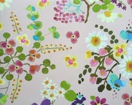 Behang Eijffinger Rice 359072 bloemen en vogels