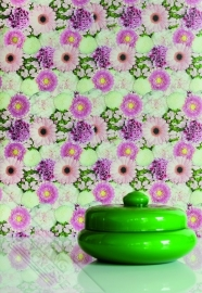 Fotobehang Wallpaper Queen ML206 bloemen