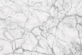 Fotobehang Wit marble