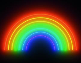 Noordwand Good Vibes GVD24304 Mural Rainbow 360cm x 280cm hoog