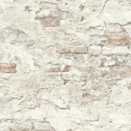 Rasch Factory 939316 ruwe baksteen