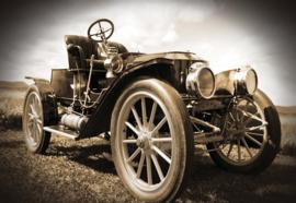 Fotobehang Vintage Car