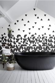 Esta Black&White 158906 photowall XL White triangles