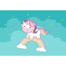 Fotobehang Cornelia Unicorn
