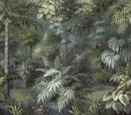 Eijffinger Oasis 317409 Wallpower Painted Paradise Flora 318cm x 280cm hoog