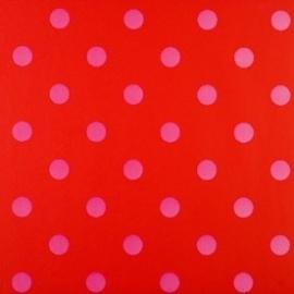 Eijffinger Pip Studio behang  386054 Dots Rood