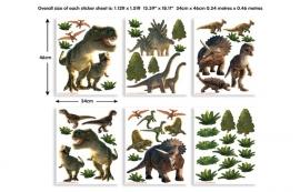 Walltastic muurstickers 41103 Dinosaurus land