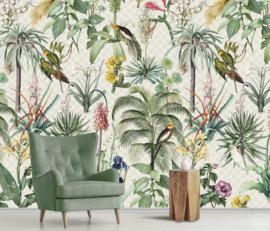 Floral Utopia INK7558 fotobehang afm. 200cm breed x 280cm hoog
