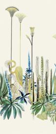 Khrôma Agathe DGAGA1011 Lush Amazon afm. 127cm x 300cm hoog