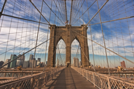 Fotobehang Brooklyn Bridge