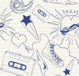 Little Ones fotobehang 416032 Scrapbook