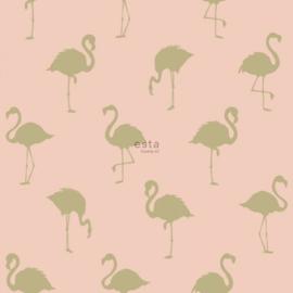 Esta Jungle Fever 151-138994 flamingo's