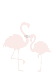 Esta photowall XL2 for kids 158838 Flamingos