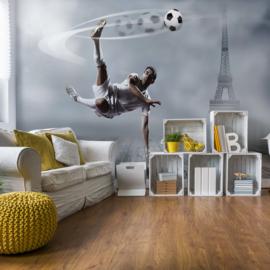 Fotobehang Voetbalspeler Parijs