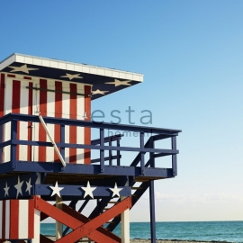 Esta Stripes XL Photowall XL Beachhouse 156514