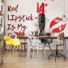 Fotobehang Red Lipstick