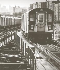Fotobehang City Love CL02A New York Metro