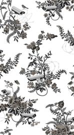 Arte Flavor Paper  FP1052 Vigilant floral