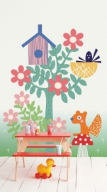 Kinderbehang Eijffinger Tout Petit 354167 Forest friends