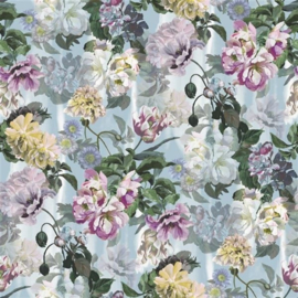 Designers Guild PDG1038/03 Delft Flower Grande Sky