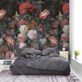 Colorful Florals&Retro fotobehang designed by INGK7317