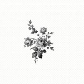 Esta Home Belle Rose Black & White 115718